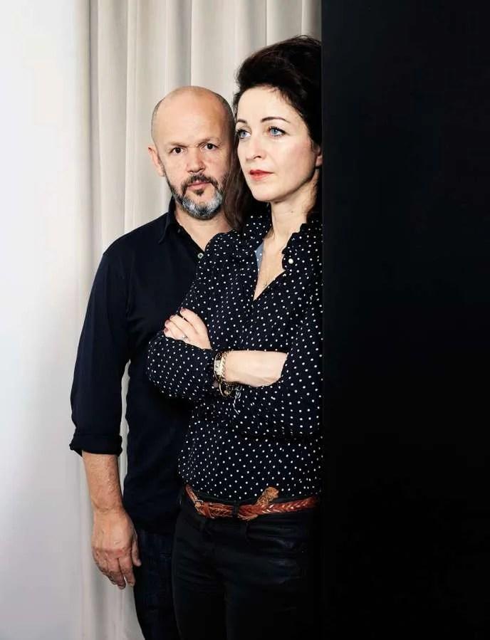 Gilles Marchand et Elodie Polo Ackermann