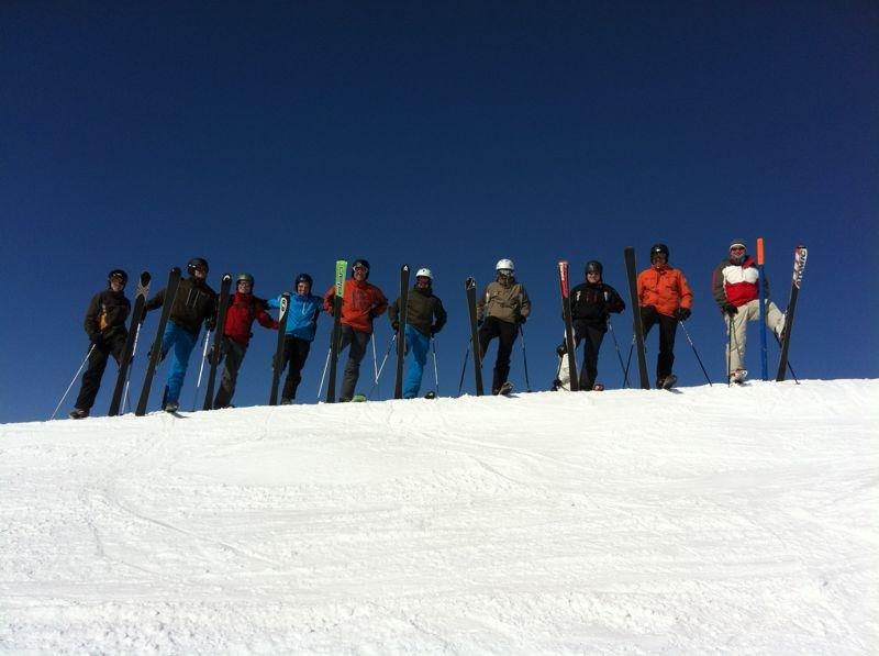 Skiweekend vom 23. + 24. Februar 2013 in der Lenk