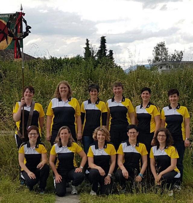 Turnfestsiegerinnen in der Sparte Fit & Fun