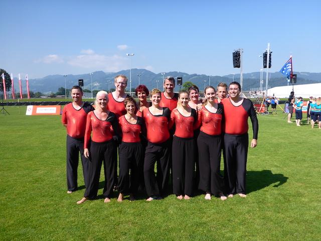 Schweizermeisterschaften im Vereinsturnen in Widnau SG
