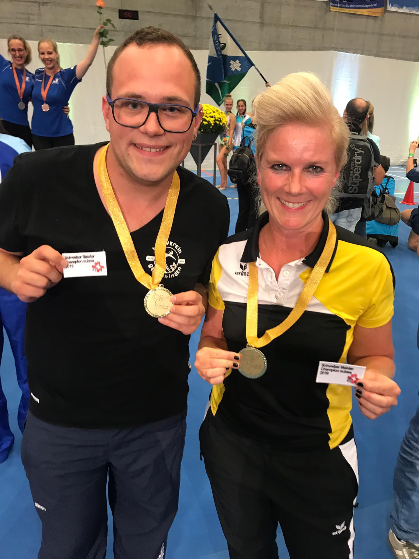 Schweizermeisterschaften Gymnastik Einzel und zu Zweit in Kreuzlingen 2019