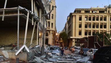 Photo of Bejrut dan nakon razorne eksplozije, ruševine i zgarišta