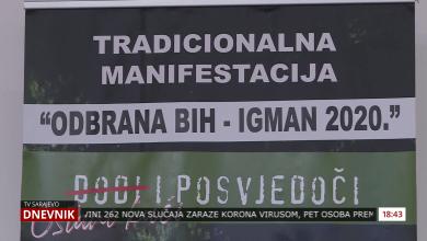 Photo of Odbrana BiH – Igman 2020, molitva/dova  na platou Ratne džamije