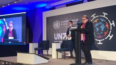 Photo of Ministrica Turković u Sarajevu govorila na obilježavanju 75. godišnjice UN-a