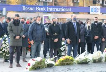 Photo of Delegacija KS položila cvijeće na spomen-obilježja i odala počast poginulim