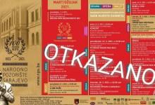 Photo of Narodno pozorište Sarajevo otkazuje najavljene predstave