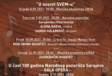 Photo of 27. Sarajevske večeri muzike pomjerene za jesen