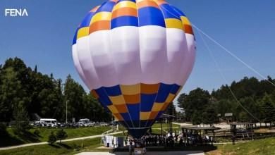 Photo of Na Trebeviću promovirana nova turistička atrakcija, let balonom