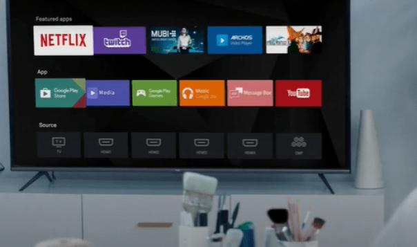 Roku tv in Home