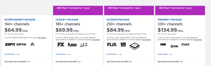 Directv Packages