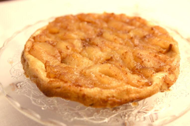 Tarta Tatín de poma