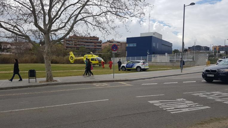 Alerta dels veïns de Coll Favà pel vol d'un helicòpter
