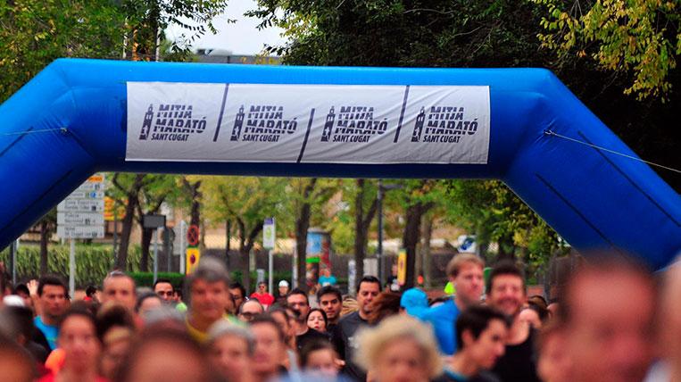 Arriba la 35a Mitja Marató de Sant Cugat