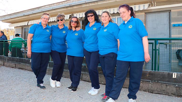Coneixes el nou equip de petanca femení de Sant Cugat?