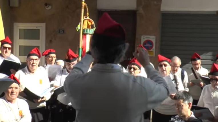 Les tradicionals caramelles de Pasqua tornen a sonar als carrers de Sant Cugat