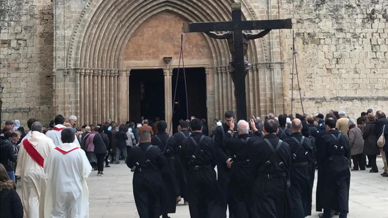 Gairebé 300 persones en el Via Crucis de Sant Cugat