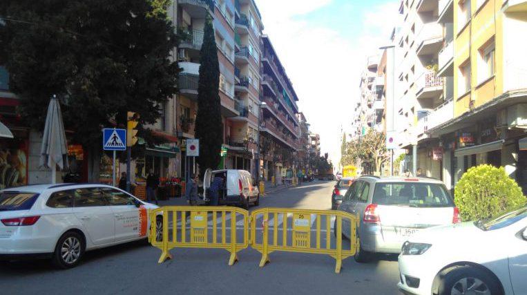 Comencen els talls de trànsit per la vianantització de l'Avinguda Cerdanyola