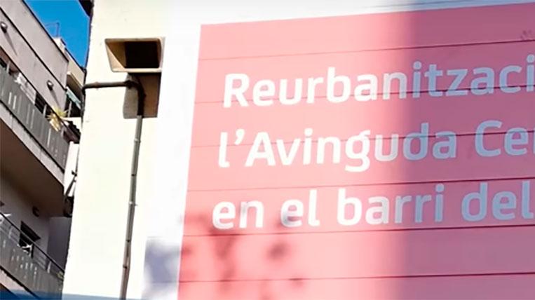 La vianantització de l'avinguda Cerdanyola començarà a mitjans d'abril