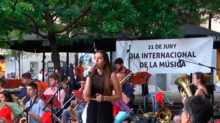 El Dia Internacional de la Música omple de ritme els carrers de Sant Cugat