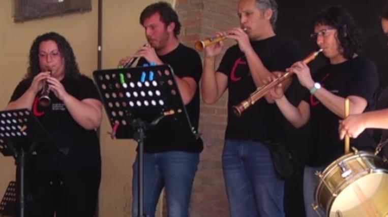 Els alumnes de l'Escola de Música Tradicional celebren un concert de fi de curs al Celler Modernista