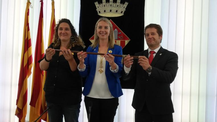 Mireia Ingla, nova alcaldessa de Sant Cugat amb els vots dels regidors d'ERC, PSC i la CUP