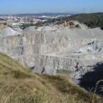 Quatre persones detingudes per extreure minerals sense permís de la pedrera Berta amb un valor de 1.000 euros