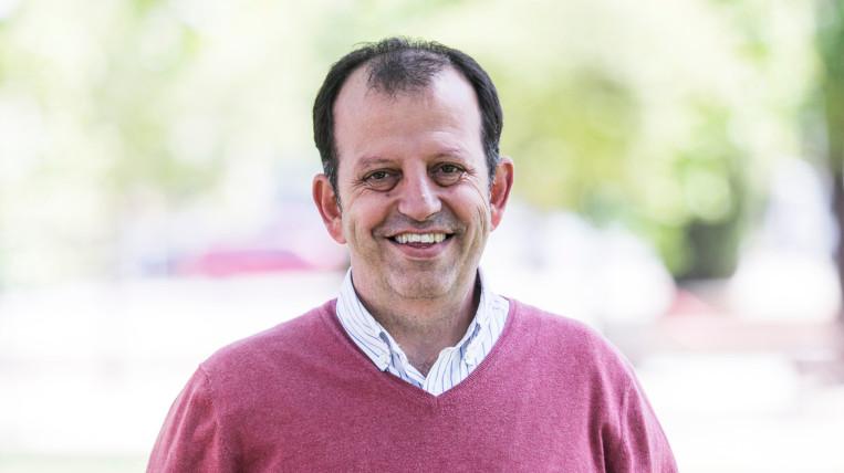 Carles Brugarolas, nou regidor de Junts per Sant Cugat, en substitució de Josep Lluís Lliberia