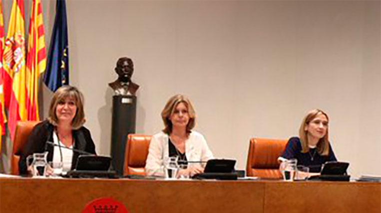 Carmela Fortuny, pren possessió com a vicepresidenta segona de la Diputació de Barcelona