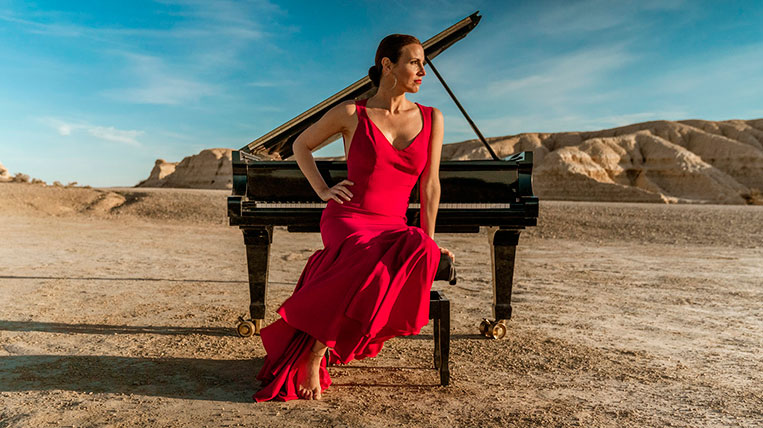 "La pianista Cristina Casale estrena videoclip per promocionar ""Duende"""