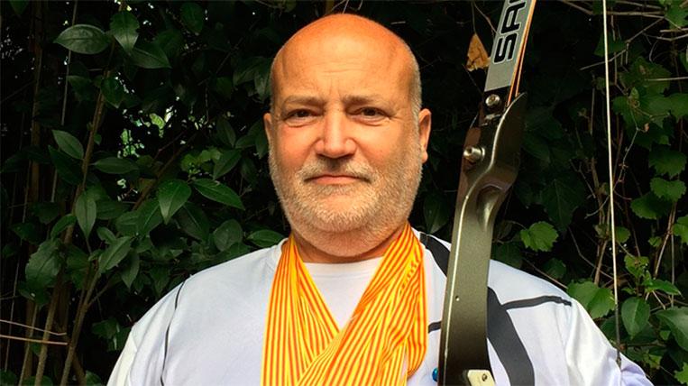 Adolf Priante, subcampió del Campionat de Catalunya de tir amb arc