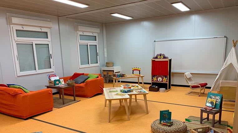 L'escola la Mirada, un projecte ple d'entrebancs