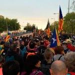 10.000 santcugatencs segons la Policia Local se sumen a la Marxa per la Llibertat