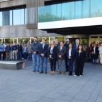 Sant Cugat dedica un minut de silenci per les víctimes dels aiguats