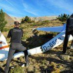 Mor un santcugatenc en l'accident d'un planador a Meranges