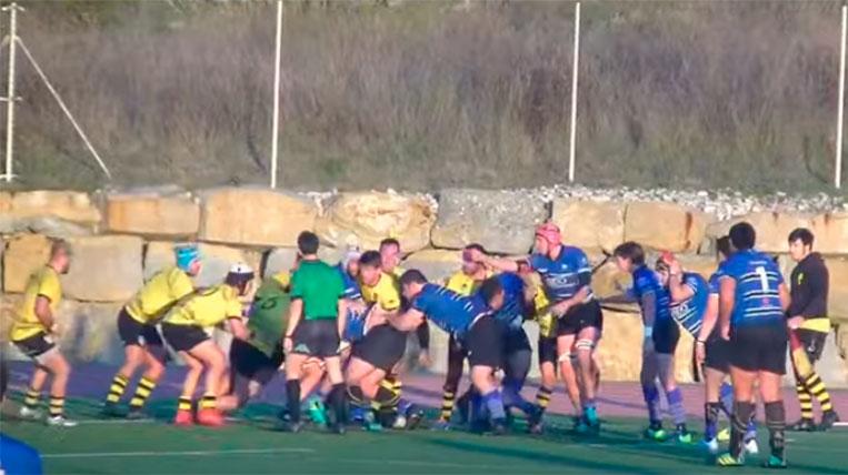 El Club Rugby Sant Cugat encadena la segona victòria consecutiva de la temporada