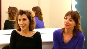 Marta Pérez i Àgata Roca, actrius de T de Teatre