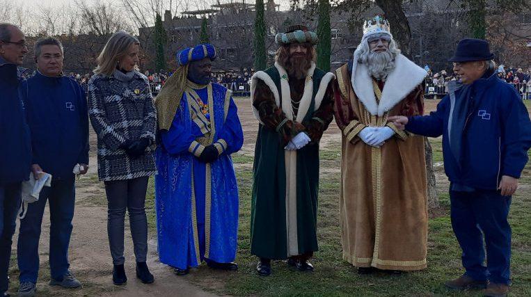 Els tres reis donen suport a la declaració de l'emergència climàtica de Sant Cugat