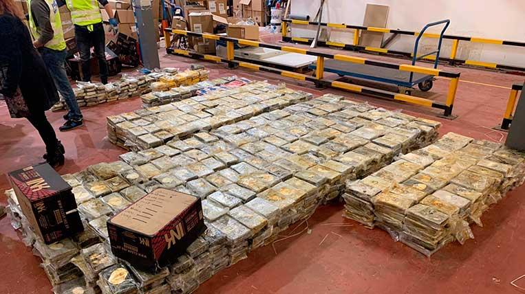 Els Mossos desmantellen una organització criminal dedicada al tràfic internacional de cocaïna amb la col·laboració d'Europol
