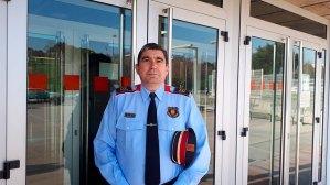 Manel Rodríguez, cap de la comissaria de Mossos d'Esquadra de Sant Cugat