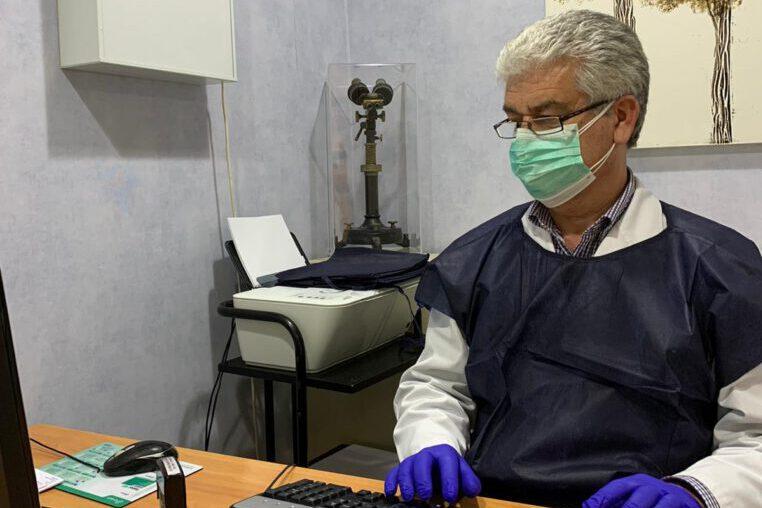 Dr. Félix Baldrich, metge de família del Centre Sanitari Can Mora