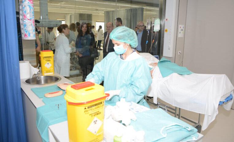 L'Hospital General de Catalunya acull 295 ingressats amb coronavirus