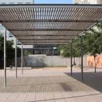 S'instal·laran pèrgoles per tenir més espai d'ombra als parcs