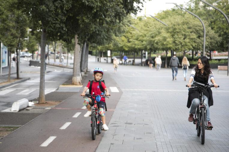 Sant Cugat ampliarà els carrils bici per connectar tres escoles i els barris de Coll Favà i Can Magí