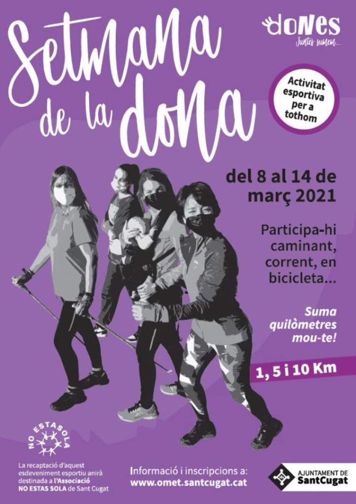 L'OMET organitza una activitat esportiva per commemorar el Dia Internacional de les Dones