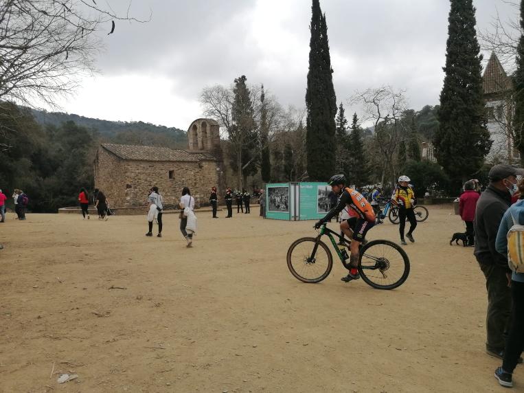 Sant Cugat celebra una diada de Sant Medir sense el tradicional aplec a l'ermita