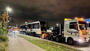 Arriben els nous vagons de FGC de la línia Barcelona-Vallès que començaran a circular en els pròxims mesos