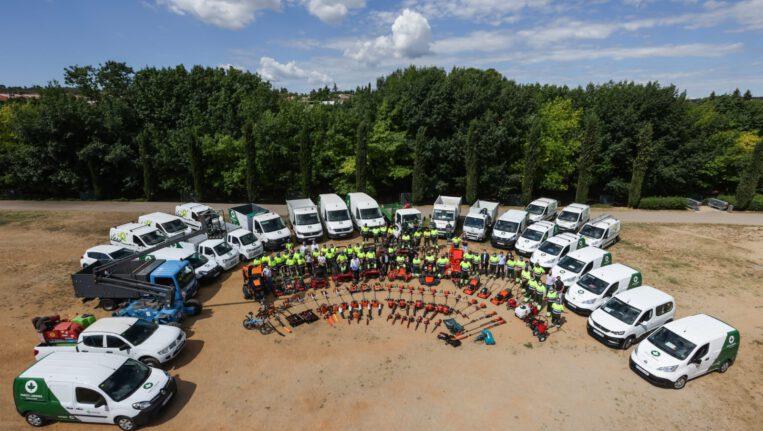 L'Ajuntament incorpora 9 persones per augmentar el manteniment dels parcs i jardins i amplia la flota de vehicles