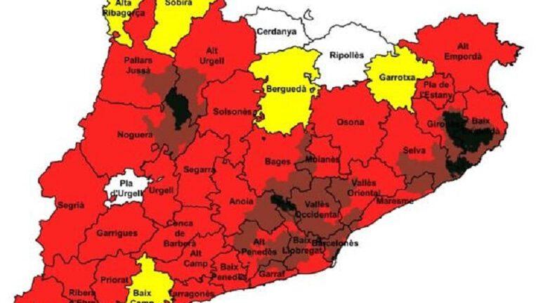 Les altes temperatures activen el Pla Alfa 3 per risc alt d'incendi forestal a la ciutat