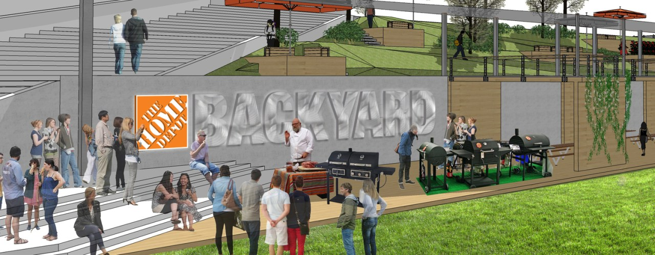 The Home Depot Backyard Is More Than A Tailgating Space