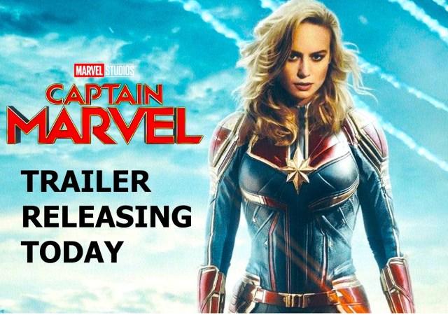 Captain Marvel Trailer